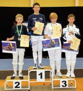 Sieger SW-Pokal Saalfeld, B-Jugend jünger